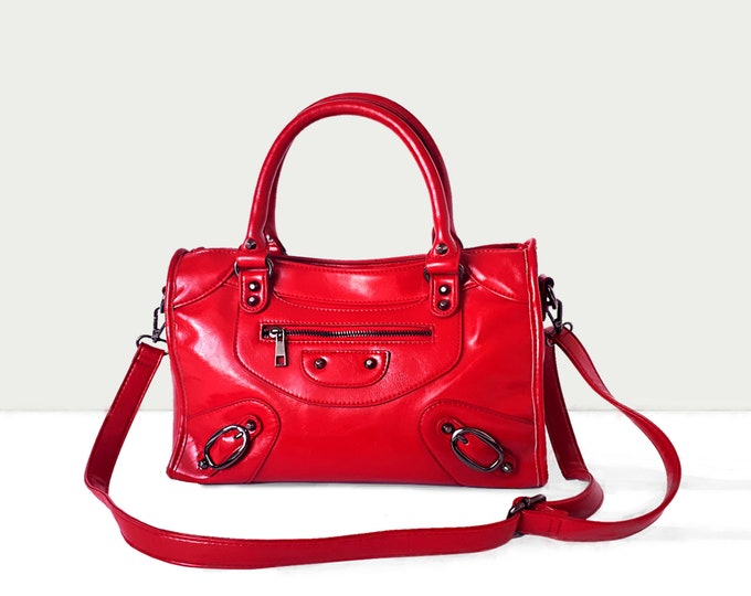 Featured listing image: Purse for Women Satchel  | Crossbody | Red