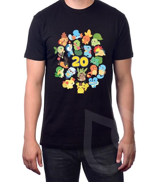 Crewneck Pok/émon 20th Anniversary Fanart Fanart Shirt
