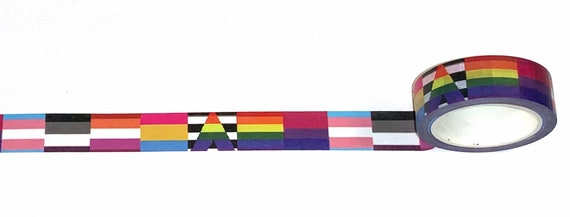 Lgbt symbol custom washi tape