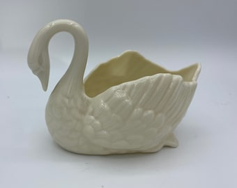 Hand Carved Granite Stone Swan Figurine FREE SHIPPING @Everything Vintage