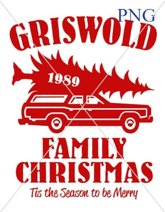 Christmas Vacation Griswold Station Wagon Png Svg Digital Etsy
