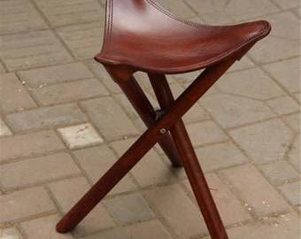 Remarkable Tripod Stool Etsy Ocoug Best Dining Table And Chair Ideas Images Ocougorg