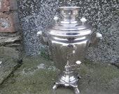 Russian Samovar, Vintage Soviet SAMOVAR, Hot water kettle pot, Electric kettle pot, Electric Tea Pot, Vintage kitchen, Rustic decor