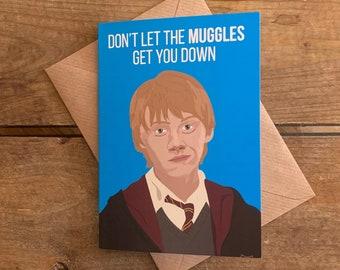 Ron Weasley-Harry Potter A6 Blank Card