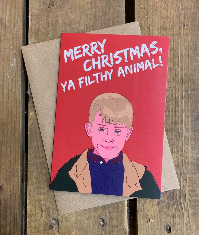 Home Alone A6 Christmas Card image 0