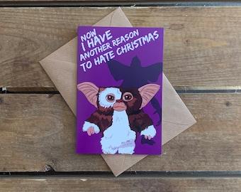 Gremlins A6 Christmas Card