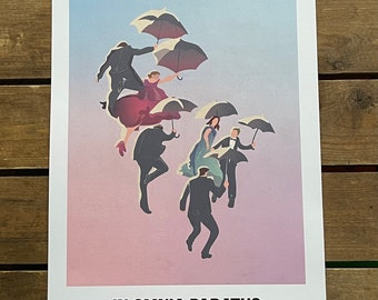 Gilmore Girls - In Omnia Paratus - Life and Death Brigade - A3 Print