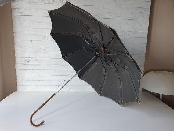 Vintage Umbrella, Working Antique Umbrella, Collec