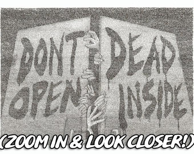 The Walking Dead - Pilot Episode - Screenplay Poster Art