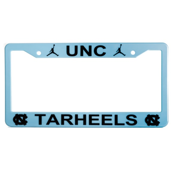 Ideal Gift for Sports Fans /& Supporters EliteAuto3K UNC University of North Carolina Tar Heels License Plate Frame Cover Slim Design NCAA Car Accessory 12.25 x 6.25