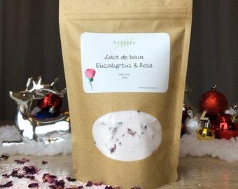 Eucalyptus vegan bath milk - Rose