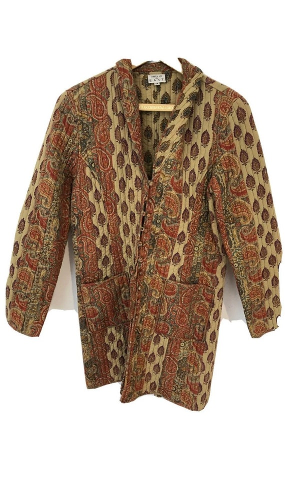 Vintage Anokhi Kantha Quilted Jacket