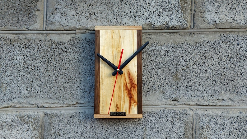 Industrial Decor Wood Clock Crafts wall clock,Bestseller Unusual Wall Clock Home Gift Clock Gift for him Unique Wall Clock