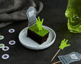 Zombie Grave Food Picks