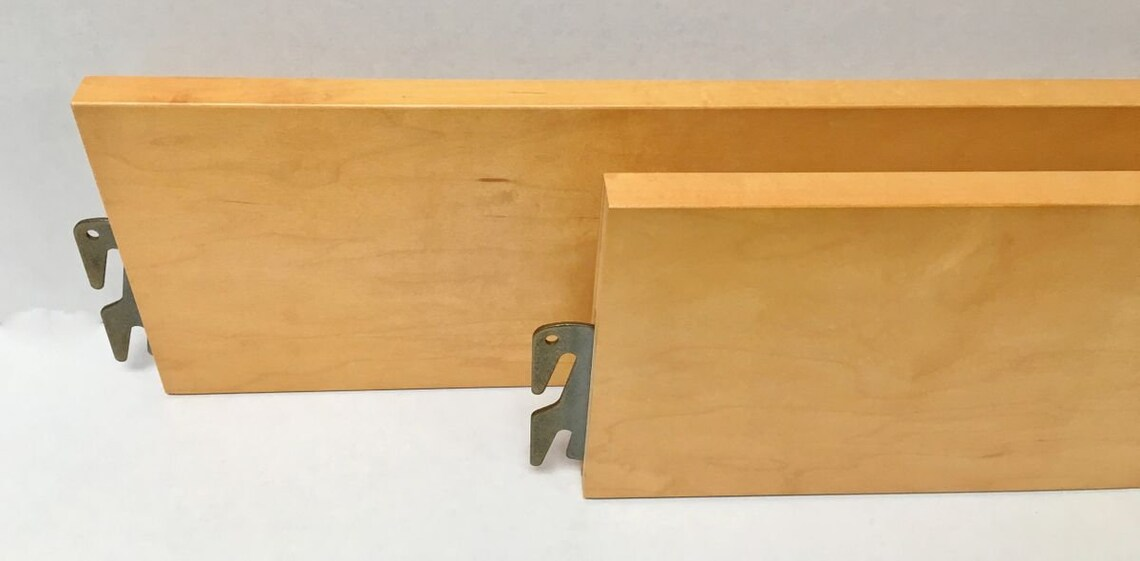 BH104-Natural Finish Bed Rails