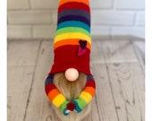 Rainbow Nordic Gnome