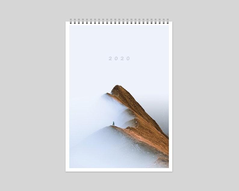 Wall Calendar 2020 A3 Portrait  Photography  Nature image 0
