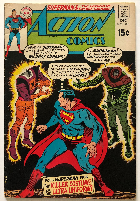 Action Comics DC Vol 1 Issue 383 Dec 1969   Etsy