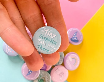Button Badges, Positive Messages, Wellbeing Gifts