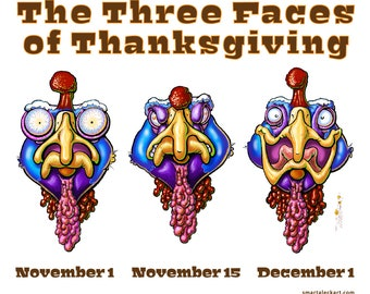 The Three Faces of Thanksgiving