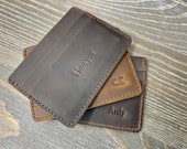Wallet, Men 39 s Leather Wallet, Minimalist Wallets, Groomsmen Gifts, Leather Wallets, Leather Card Holder as Valentines Day Gift for Him, Etsy