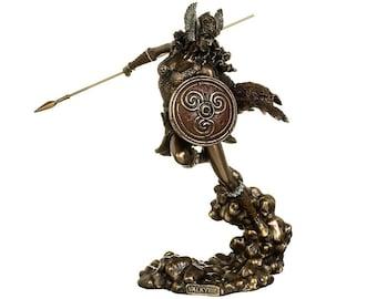 Valkyrie Statue Figurine.Valkyrie Sculpture.Nordic Goddess.Norse Goddess Statue Figurine