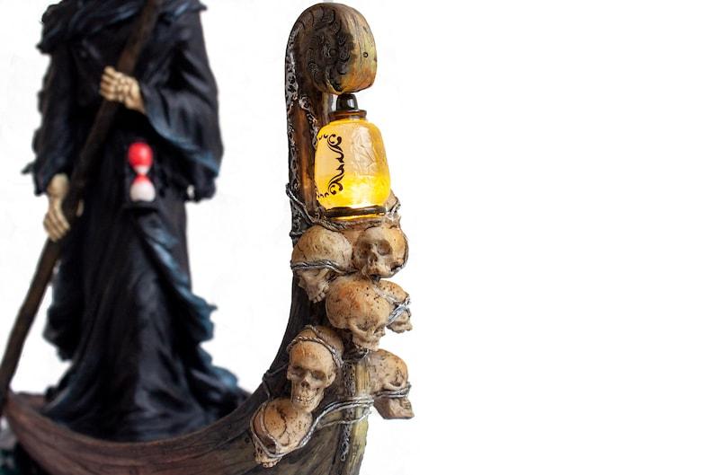 Charon Figurine.Grim Reaper Statue Figurine. Ferryman to the image 5