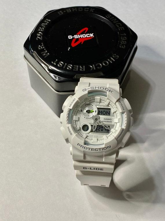 Casio G-Shock G-Lide Series White Resin Watch GAX1