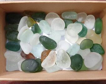 Genuine Seaham sea glass