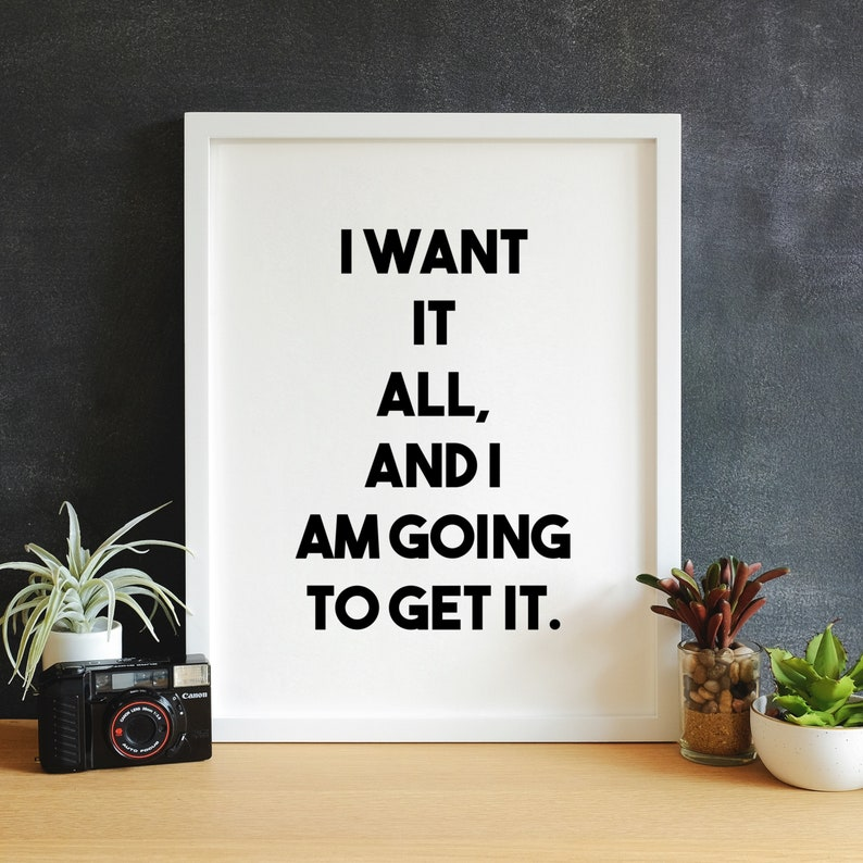 Get It Printable Wall Art  Trendy Office Decor Entrepreneur image 0
