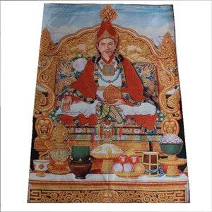 Rare Antique Tibetan Buddhism Buddhist Thangka,Hand Embroidery Color Thread Bodhisattva Thangka,Thang Ga,Indian Tonka,Nepal Buddha Thanka