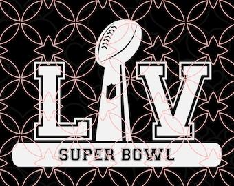 Superbowl Svg Superbowl 2021 Svg Buccaneers vs Chiefs SVG Superbowl 55 Svg Superbowl Shirt cricut file silhouette Ai Vector Eps Digital