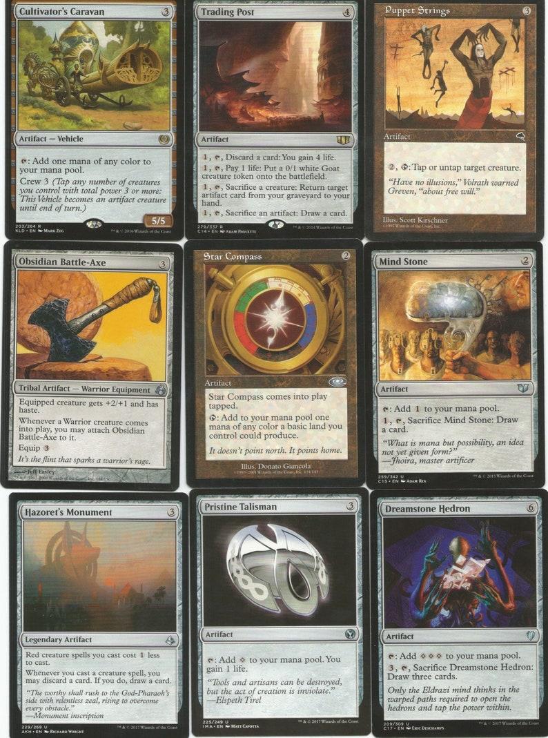 Commander-GOBLIN-Krenko Mob Boss-Red-EDH-MTG-Magic-Rares-Mythics 100 Cards Ready to Play