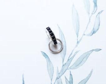 Ts549-925 Sterling Silver Earrings Rhodium Women Aaa Grade Cz Clear A874-ts549