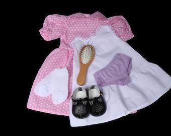"""American Girl Doll Wardrobe Amish Made Samantha 18/""""Doll"""