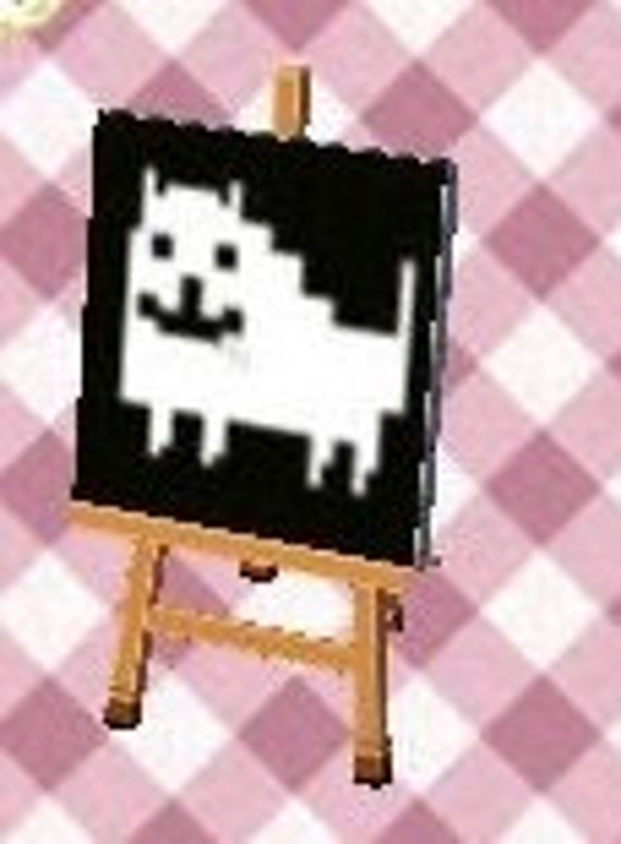 Undertale Animal Crossing New Leaf Outfit Qr Codes 4 Outfits Etsy