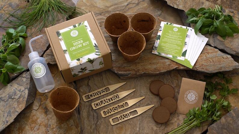 Indoor Herb Garden Grow Kit image 0