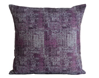 HANDMADE Turkish Mauve Pillow Cover Soft Cotton Mauve Throw Pillow