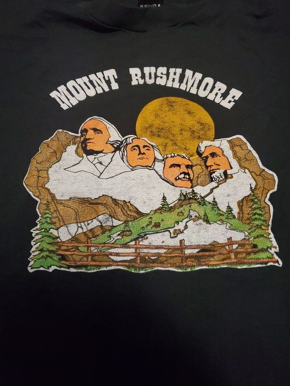 Vintage Rushmore funny shirt - image 3