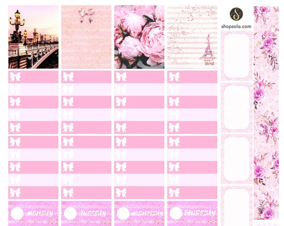 Printable Planner Stickers for Erin Condren or Happy Planner