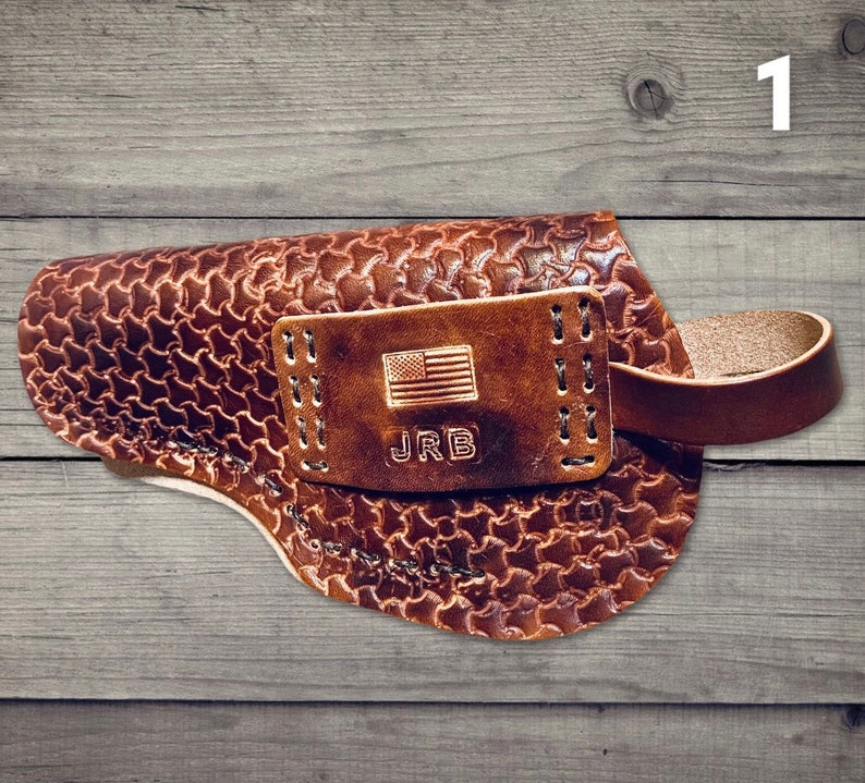 Handmade Leather Holster  Leather Gun Holster  Customize Holster