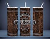 Kentucky Bourbon Barrel - 20oz. Straight Tumbler Digital PNG File Instant Download 300dpi Sublimation Design