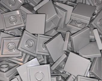 LEGO 2x2 Tiles - Choose Color and Quantity - Gray Black