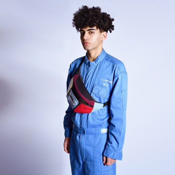 VINTGE mechanic boiler suit onesie SIZE 32 medium