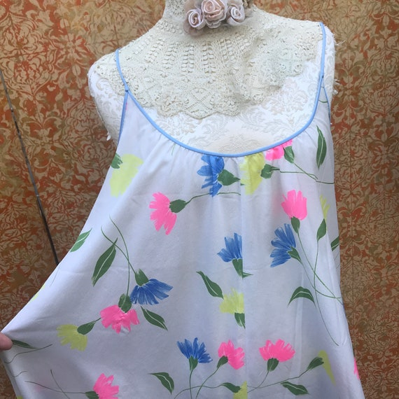 70s Vintage Lucie Ann Nightgown Claire Sandra Luc… - image 7