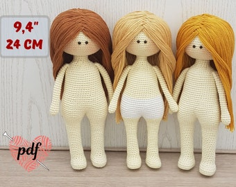 Amigurumi Doll - Basic Body. FREE Patterns Too! - 7 Robots | 270x340