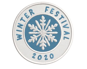 Mystic Moon Tree Sun Embroidered 3.5 Patch Seasonal Decoration Festival Souvenir Iron On  Sewn Winter Solstice 2019 /& 2020