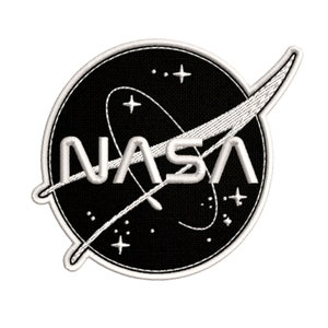 MNXA 8 Pcs NASA Iron On or Sew On Embroidery Patches for School Project,Halloween Costume,NASA Office Logo,USA Flag Patch
