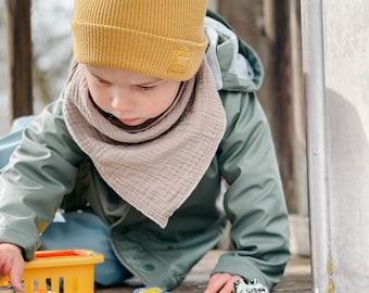 Cloth muslin muslin scarf scarf children Leo gift
