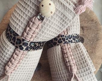 Gift Set Baby Birth newborn Pacifier Chain Blanket Wafflelpique Children's Blanket Tassel Tassels
